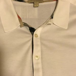 Burberry Shirts - Men's Size Large Burberry Polo